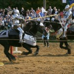 Frau Feie and Jousting