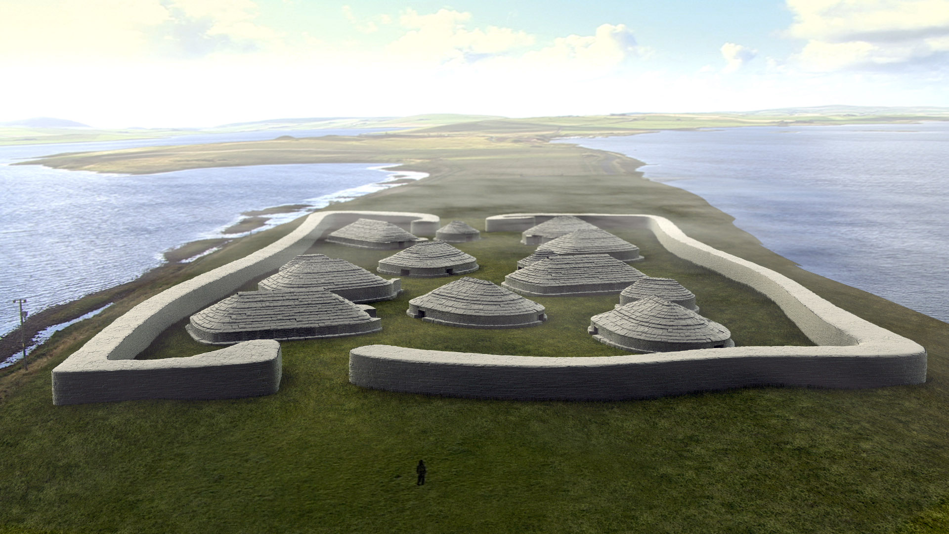 Ness of Brodgar reconstruction