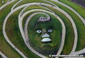 face of northumberlandia