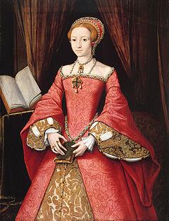 young elizabeth i