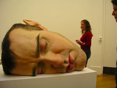 huge head