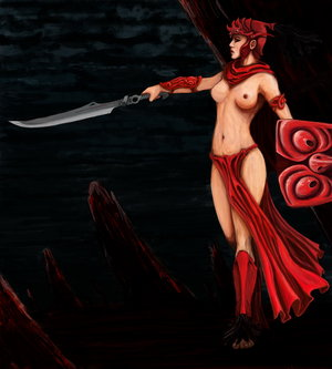 red queen of the amazons