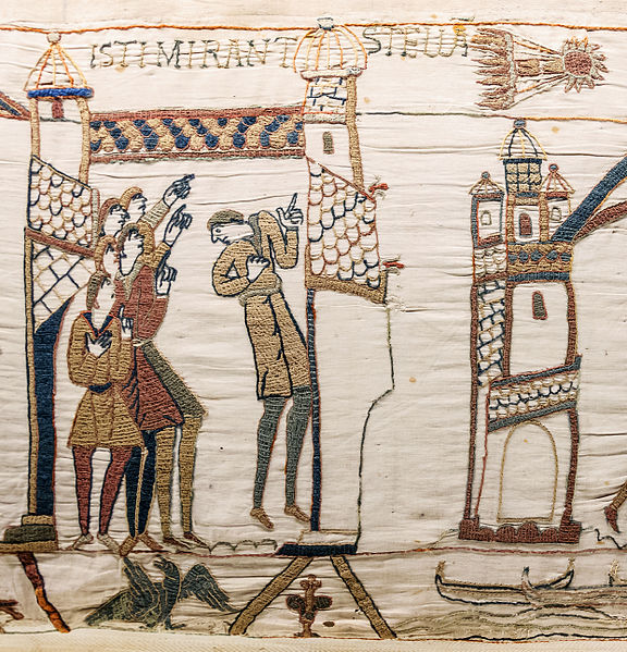 halley as seen in england 1066