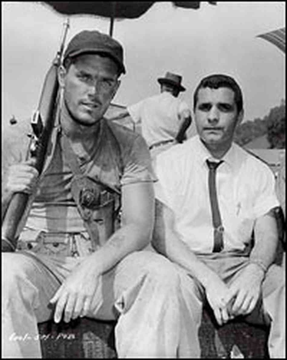 Jeffrey hunter and guy gabaldon