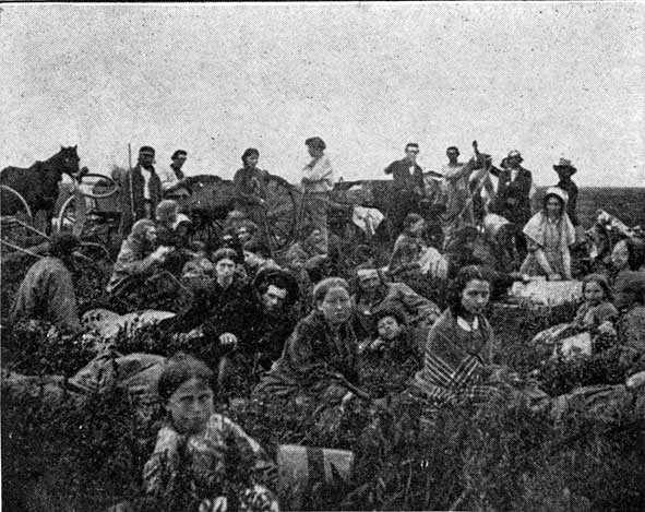 1862 missionaries flee the sioux