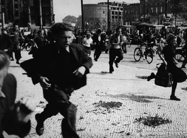 1953 rebellion in east germany