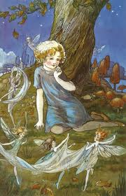 fairies dance with child