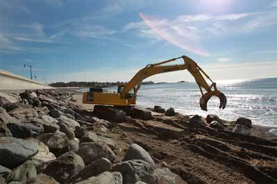 building beach