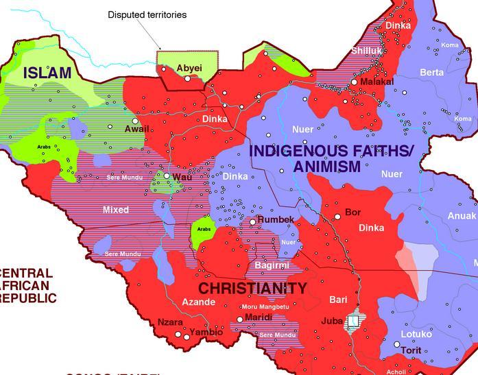 Sudan religions