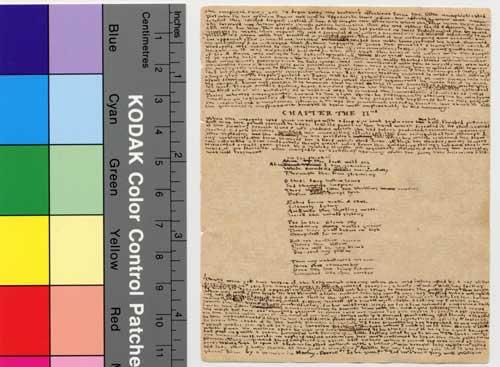 bronte manuscript