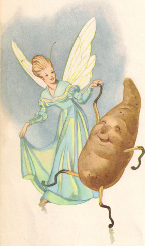 fairy and potato