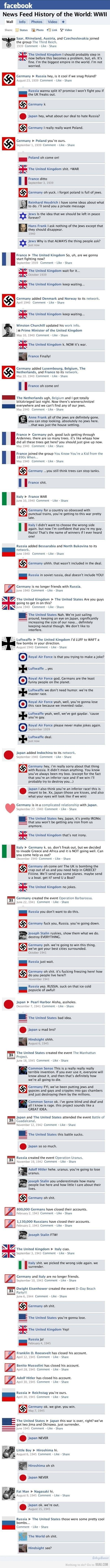 facebook ww2