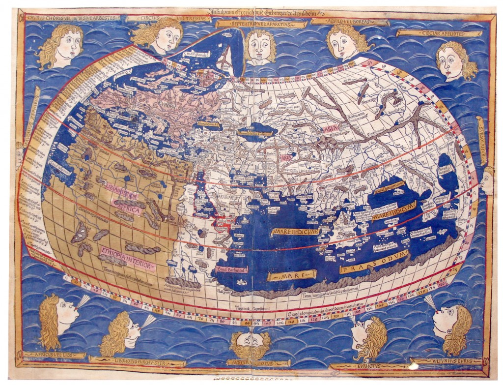 fifteenth century Ptolemy map