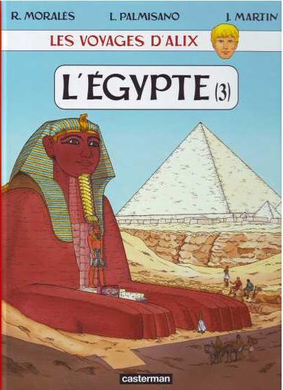les voyages d'alix l'egypte