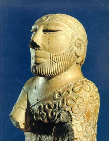 mohenjo dara priest king