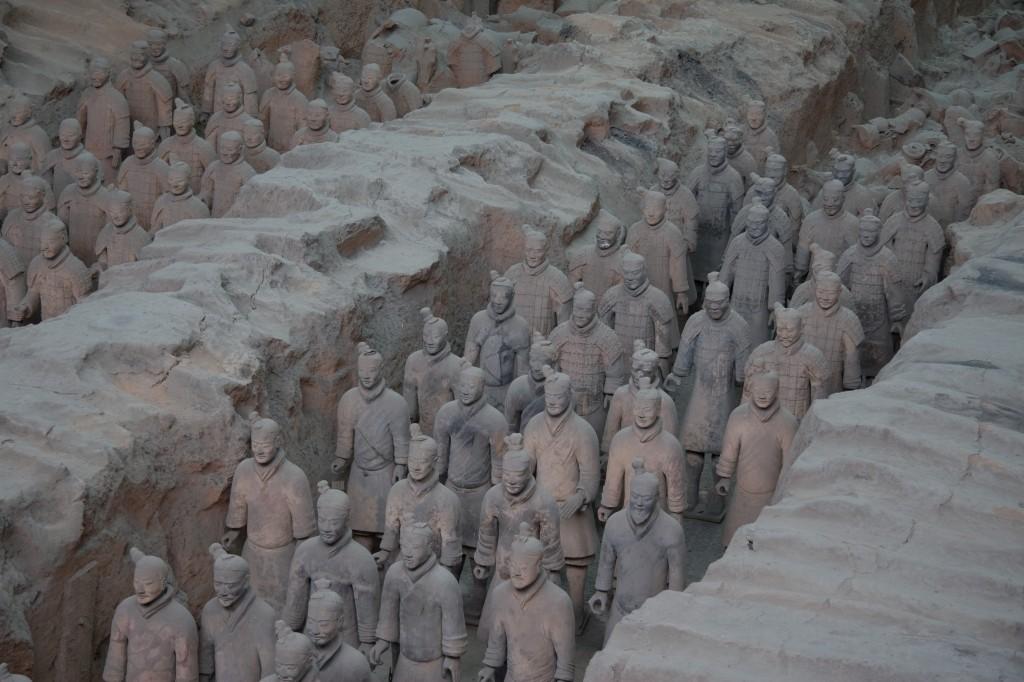 ceramic army