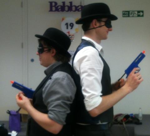blind duelling