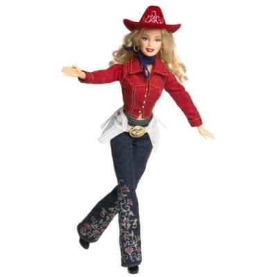 cowboy barbie
