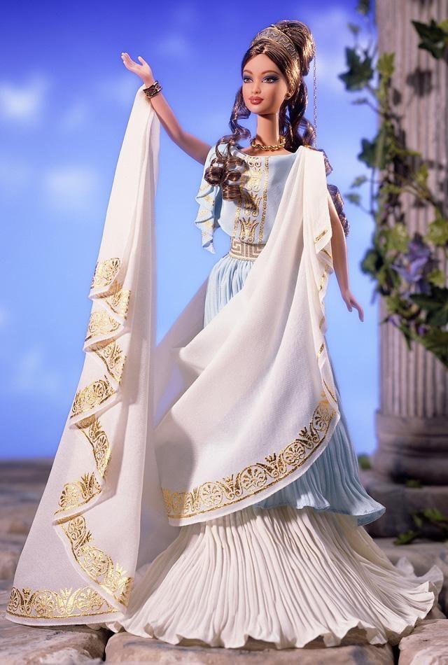 greek goddess barbie