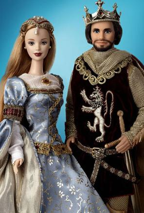 king arthur and guinevere barbie