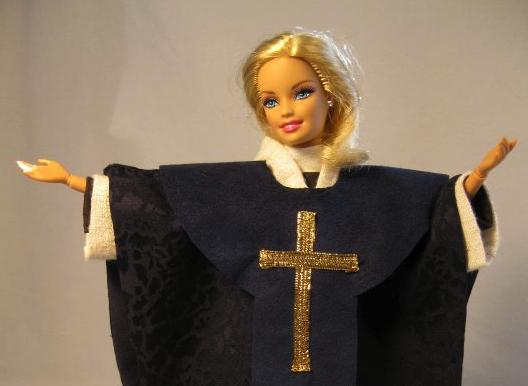 women priest barbie
