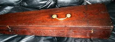 coffin violin case