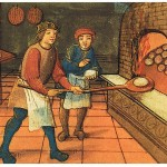 Daily History Picture: Baking in the Middle Ages