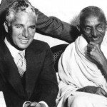 Daily History Picture: Charlie Chaplin Meets Ghandi