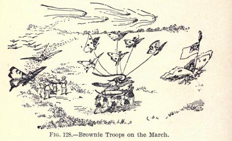 brownie troops on the march