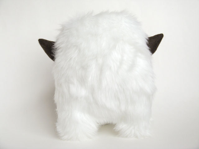 white furry thing