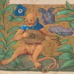 Daily History Picture: Cat Plays Lute