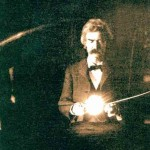 Daily History Picture: Twain and Tesla
