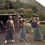 Daily History Picture: Samurai Bow Training