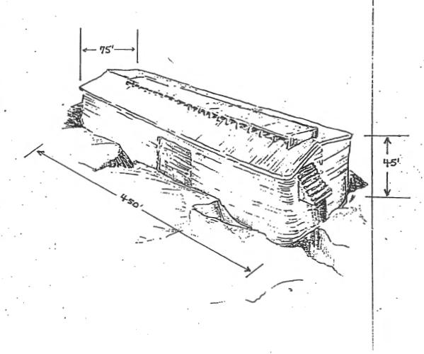 diagram of noahs ark