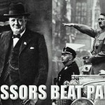 When Churchill Came Within Twenty Yards of Hitler