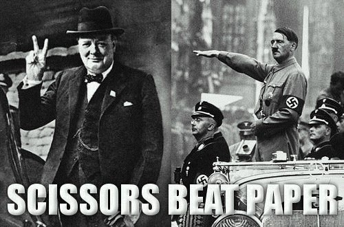 churchill hitler