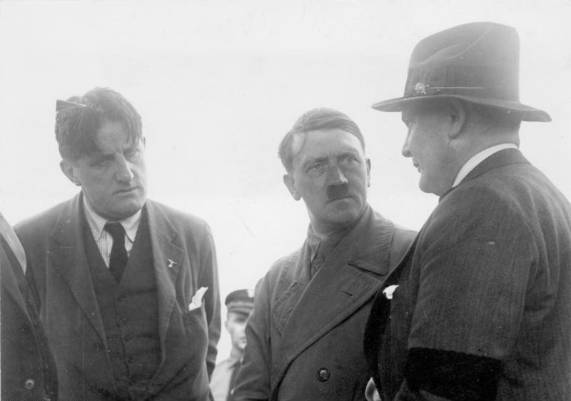 hanfstaengl, hitler and goring