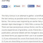 New Folklore Survey: Have You a Fairy Story to Tell?