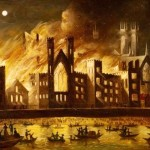 Daily History Picture: Parliament in Flames