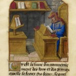 Daily History Picture: Medieval Aristotle Reads in his Study