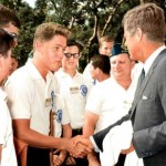 Daily History Picture: Kennedy Meets Clinton