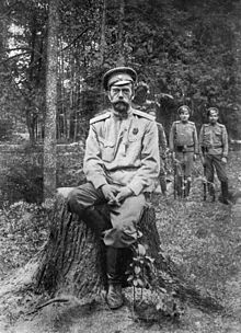 nicholas ii after abdication march 1917