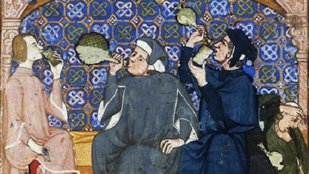 middle ages water medieval drinking party drink history dirty beer wine hard things daily booze avoid bad drank myth didn