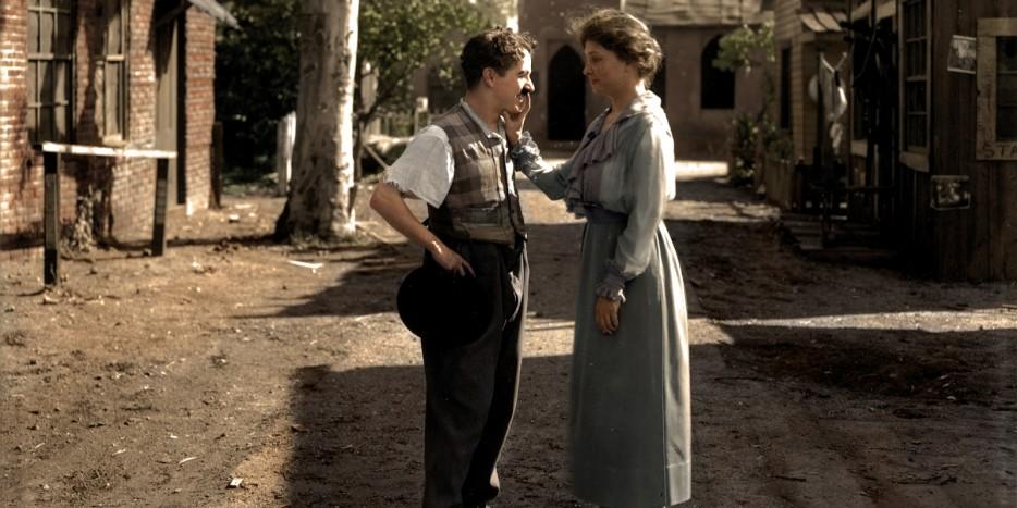 hellen kellery meets charlie chaplin 1918