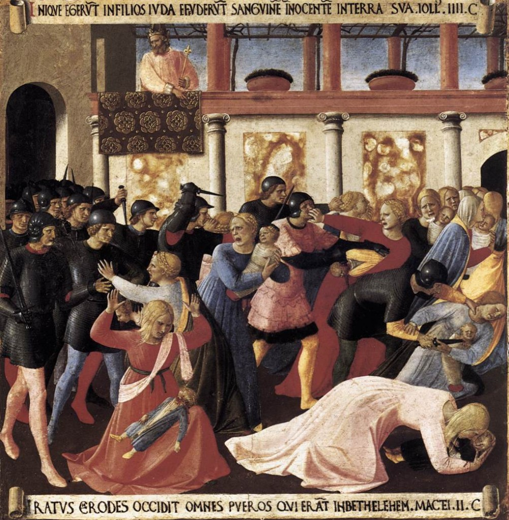 fra angelico murder of innocents