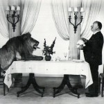 Daily History Picture: Hitchcock and the Lion