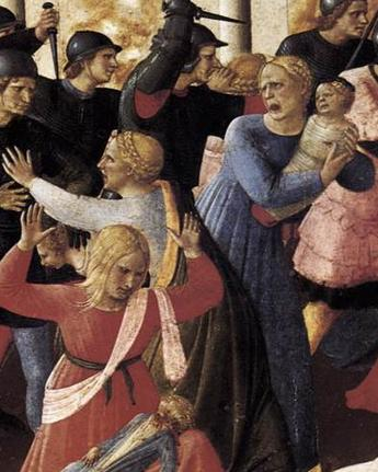pain in fra angelico