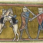 Daily History Picture: Knight vs Knight, Horse vs Horse
