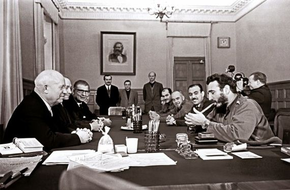 Daily History Picture: Castro and Khrushchev