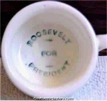 roosevelt for president chamber pot